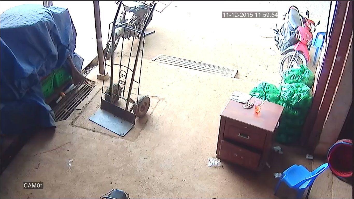 hình ảnh camera giám sát lắp đặt tại quận 3