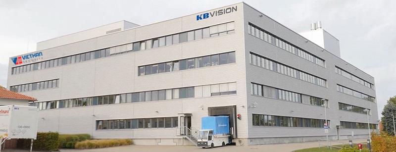 nhà máy sản xuất camera giám sát thương hiệu Kbvision