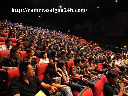 camera quan sát cho rạp chiếu phim