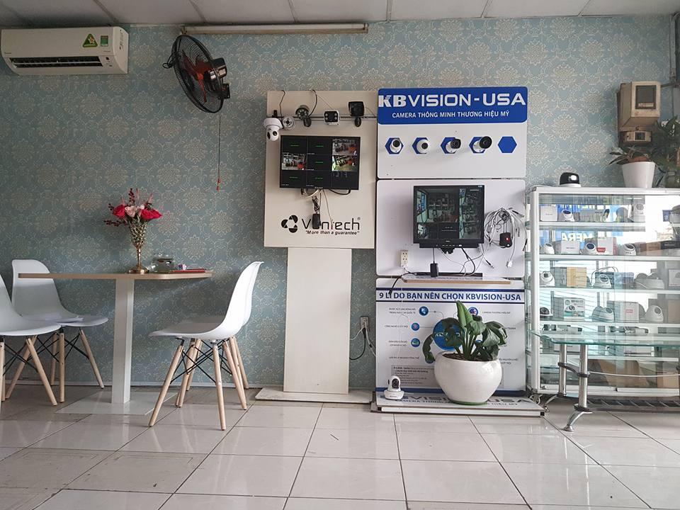 Showroom camera quan sát ở quận 2