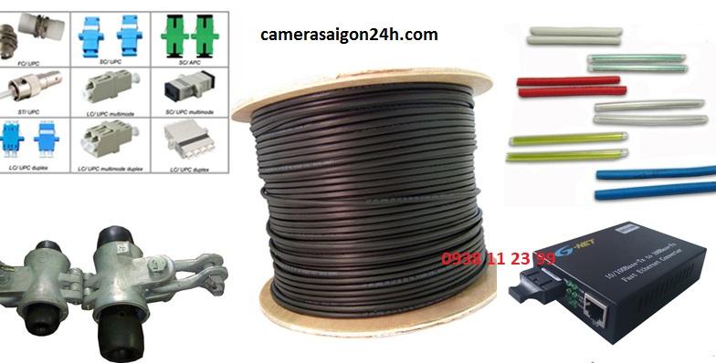 phụ kiện cáp quang, cáp quang giá rẻ, fast connect, đấu nối cáp quang, dây cáp quang giá rẻ, conver cáp quang, chuyển đổi quang điện