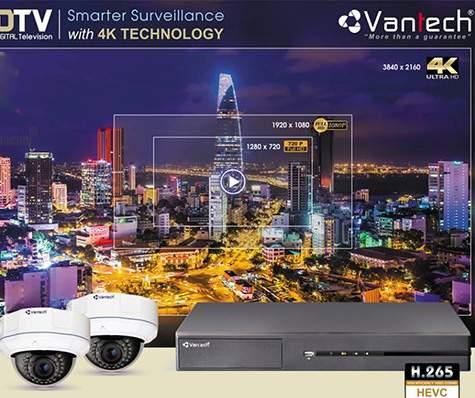 Lắp camera quan sát giá rẻ thương hiệu Vantech