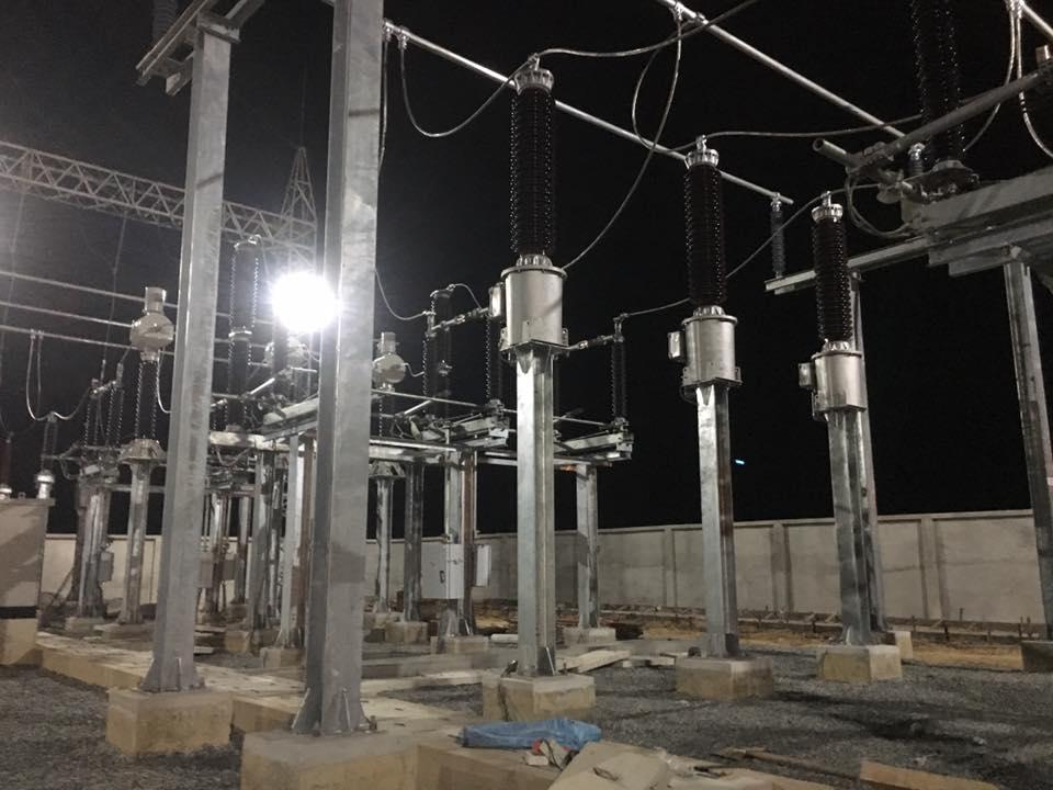 hình ảnh thực tế trạm điện