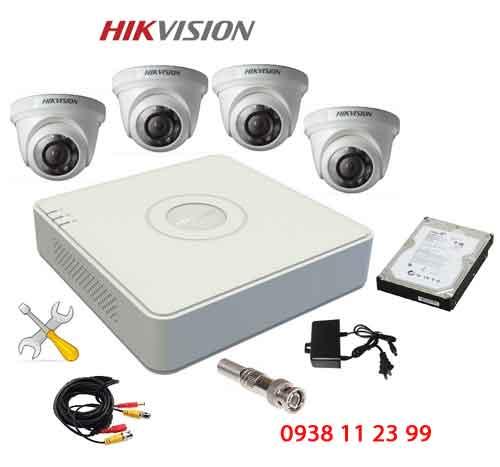trọn bộ camera quan sát hikvision giá rẻ cho cửa hàng gia đình văn phòng