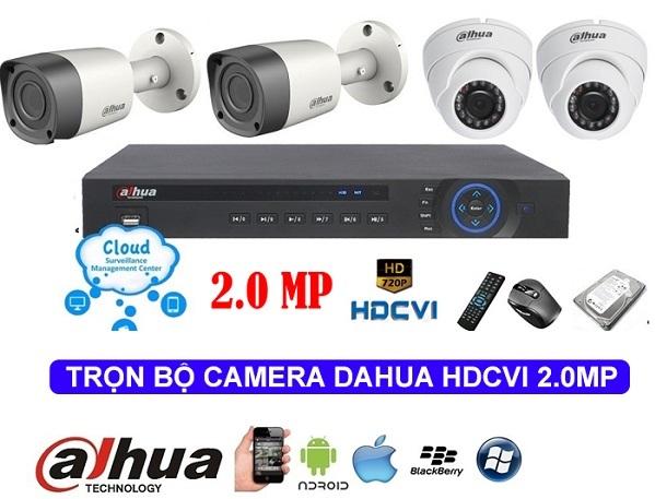 lắp đặt camera quan sát tại huyện Hóc Môn - Trọn bộ camera quan sát chất lượng hình ảnh HD rõ nét, bảo hành 24 tháng