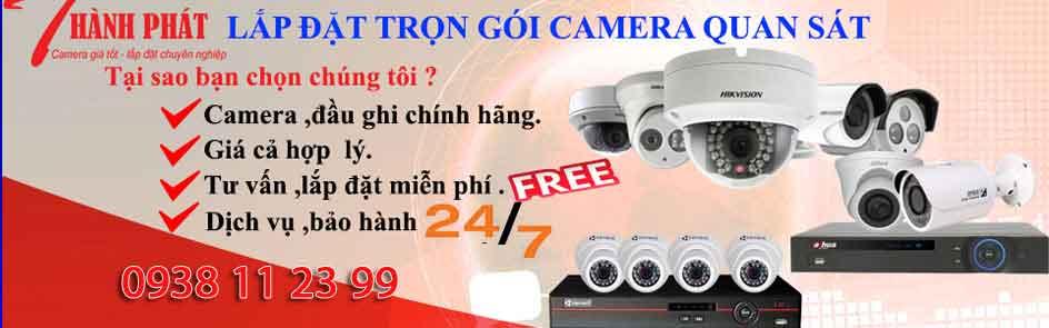 Lap Camera HIKVISION Tron Goi Gia rẻ