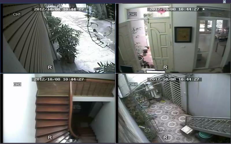 bố trí lắp đặt camera quan sát gia đình