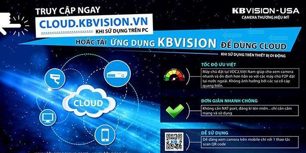 lắp camera giám sát trên điện thoại bằng cloud