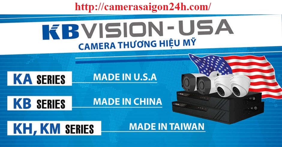 lap camera quan sát kbvision giá rẻ