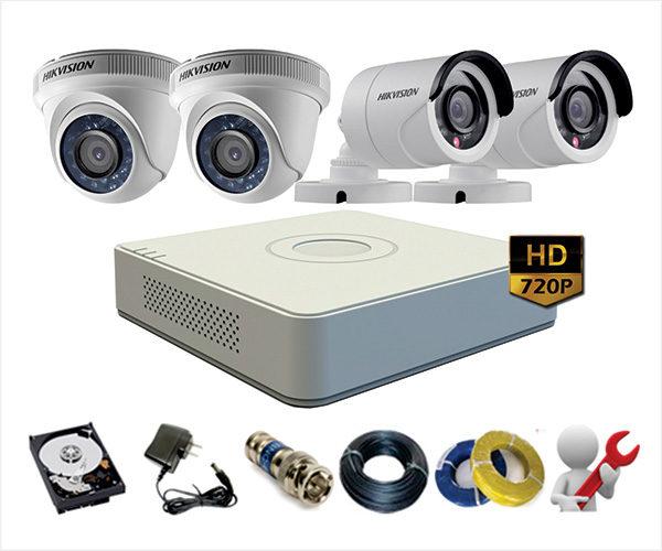 Lắp đặt camera giám sát giá rẻ trọn bộ