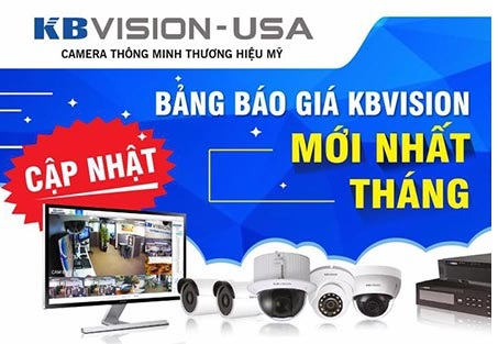 Báo Giá Camera kbvision, Giá camera kbvision cho thợ, camera kbvision, cotaloge kbvision, camera kbvision mới cập nhật, bản báo giá camera KBVISION
