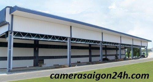 Lắp đặt camera giám sát cho kho xưởng tại Long An