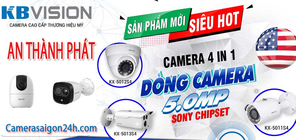 lắp đặt camera kbvision giá rẻ camera quan sát tiêt kiệm