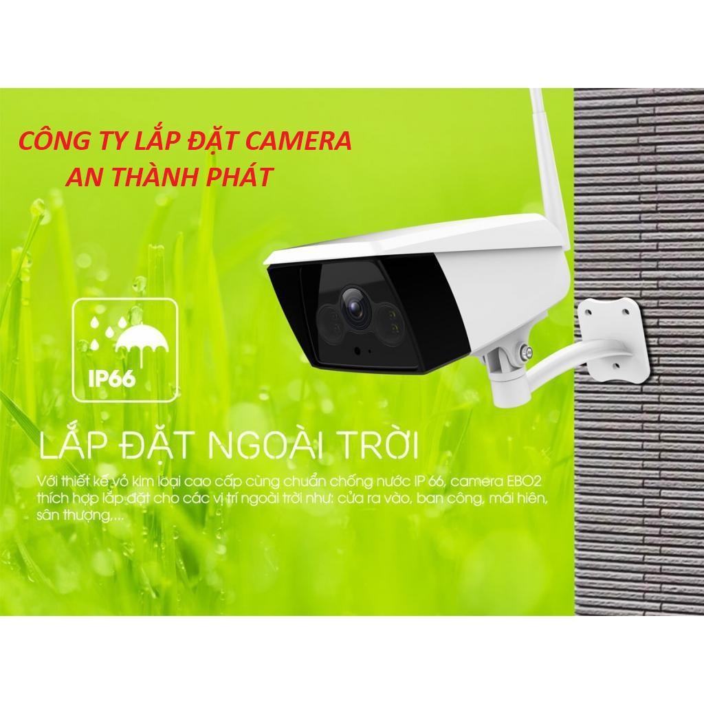 lắp camera wifi giá rẻ chất lượng giám sát ngoài trời