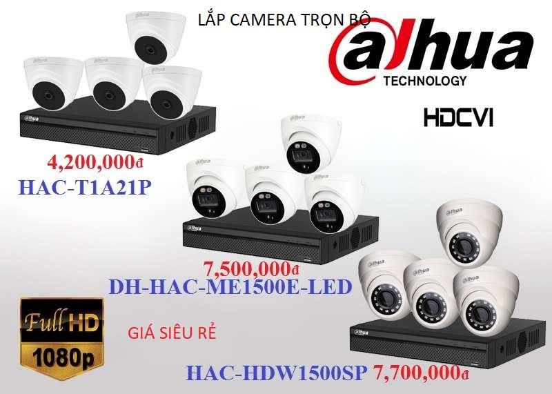 Bộ camera quan sát chất lượng cao dome reong nhà