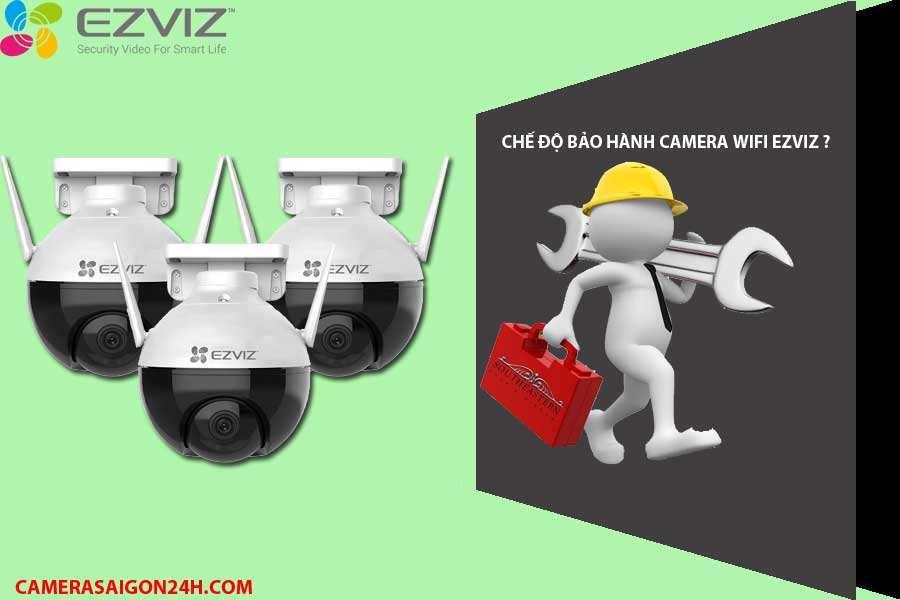 chế độ bảo hành camera ezviz