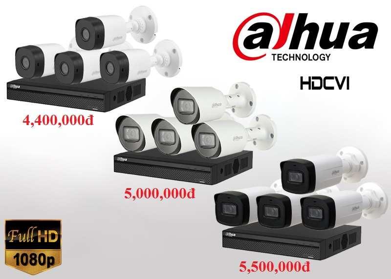 Bộ camera quan sát Dahua giá rẻ