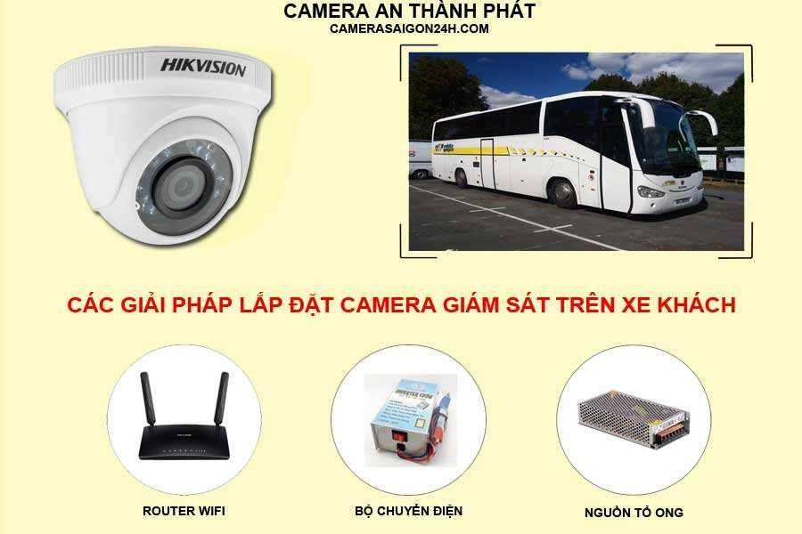 giải pháp lắp camera giám sát trên xe khách, xe công
