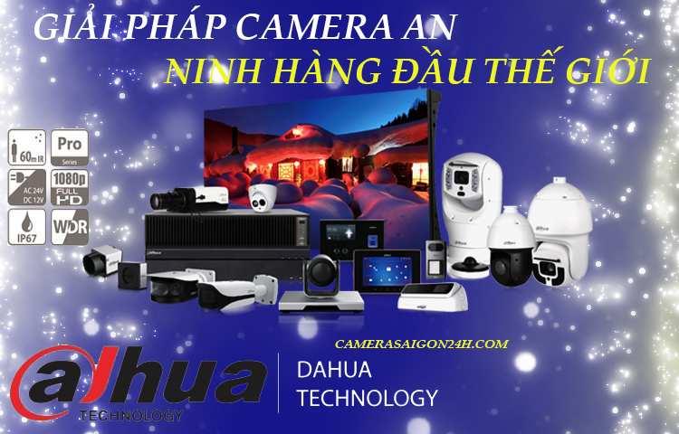 Giới thiệu hãng camera Dahua uy tin chất lượng