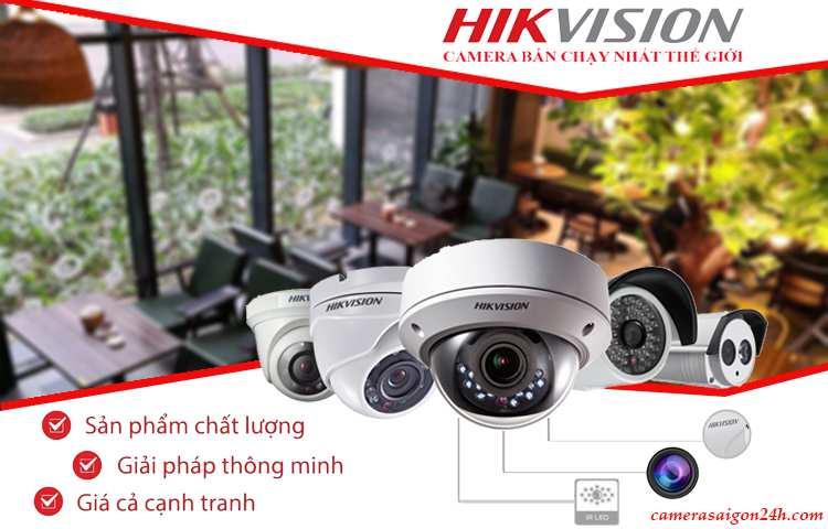 Giới thiệu camera hãng HIkvision thương hiệu hàng đầu