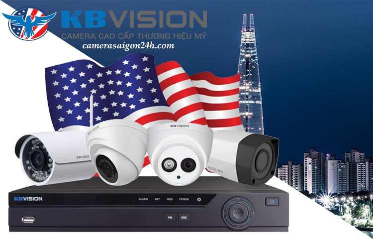 kbvision camera cao cấp thương hiệu Mĩ
