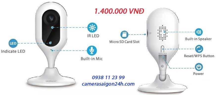 Lắp camera wifi Dahua giá rẻ IPC-c12P imou