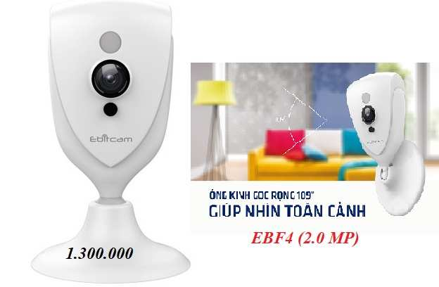 Camera quan sat wifi chinh hang ebitcam