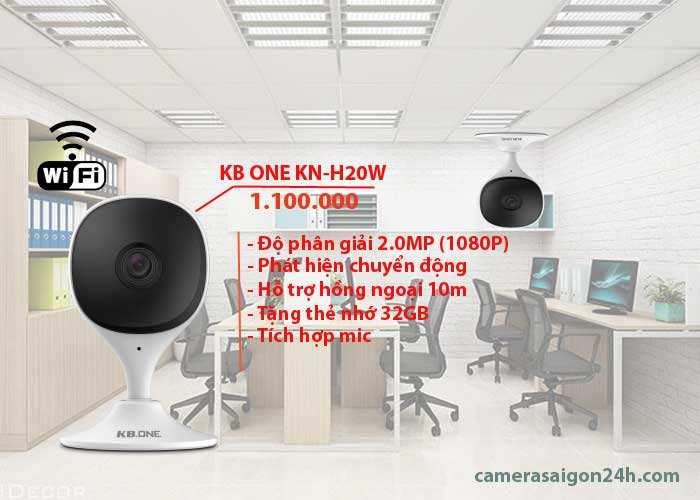 Camera wifi chính hãng KN-H20W hình ảnh sắc nét tại công ty An Thành Phát