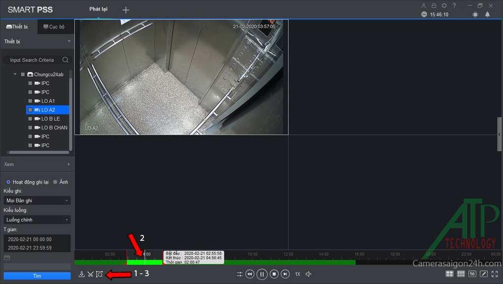 Hướng dẫn trích xuất dữ liệu camera Dahua