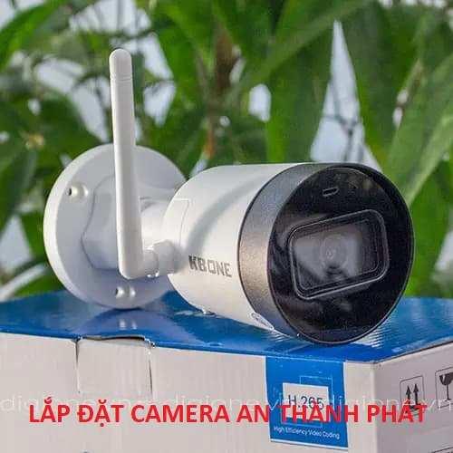 lắp camera wifi kbvision chính hãng ngoài trời