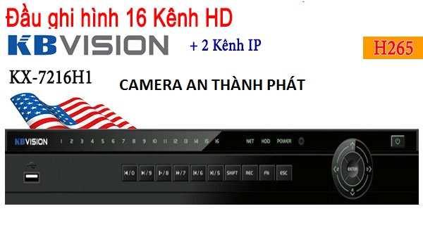 đầu ghi hình camera KX-7116H1