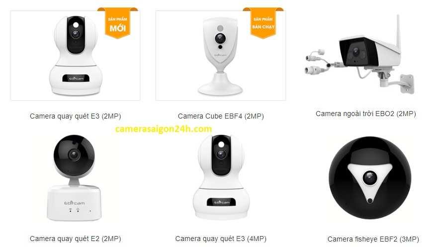 phân phối camera wifi ebitcam chính hãng