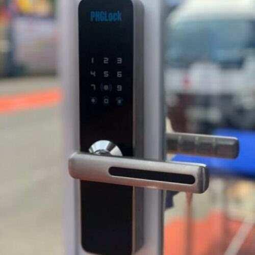 Khóa cửa điện tử PHGLock KR5293 (Bạc)