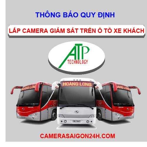 lắp camera cho ô tô xe khách theo nghị định số 10/2020 NĐ-CP