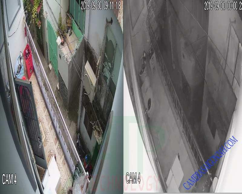 camera quan sát có hồng ngoại ban đêm