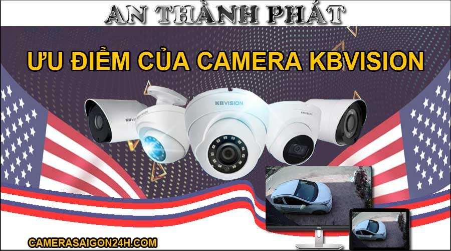 ưu điểm của camera Kbvision