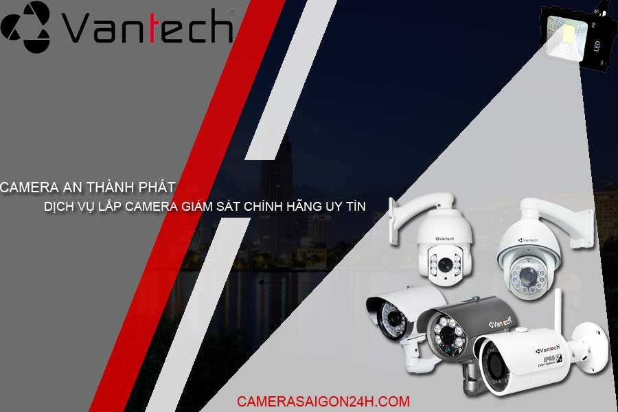 thương hiệu camera quan sát Vantech
