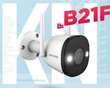 lắp camera wifi kbone kbone B21F giá rẻ chất lượng lắp đặt ngoài trời