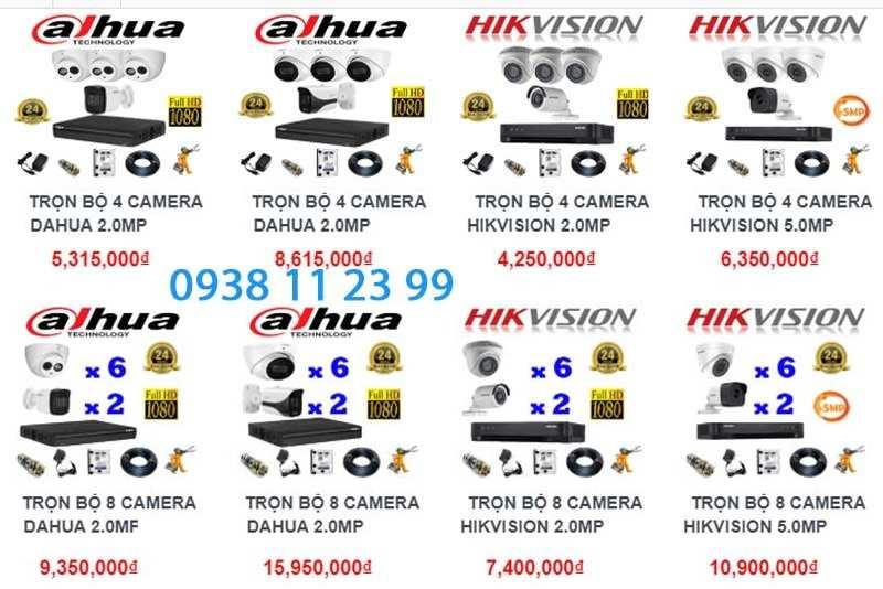 Báo giá lắp đặt camera quan sát giá rẻ