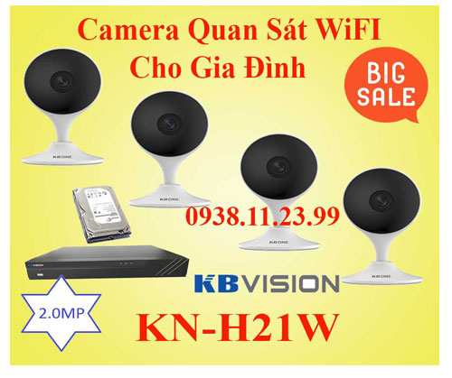 Lắp camera wifi giá rẻ cho gia đình văn phòng cửa hàng