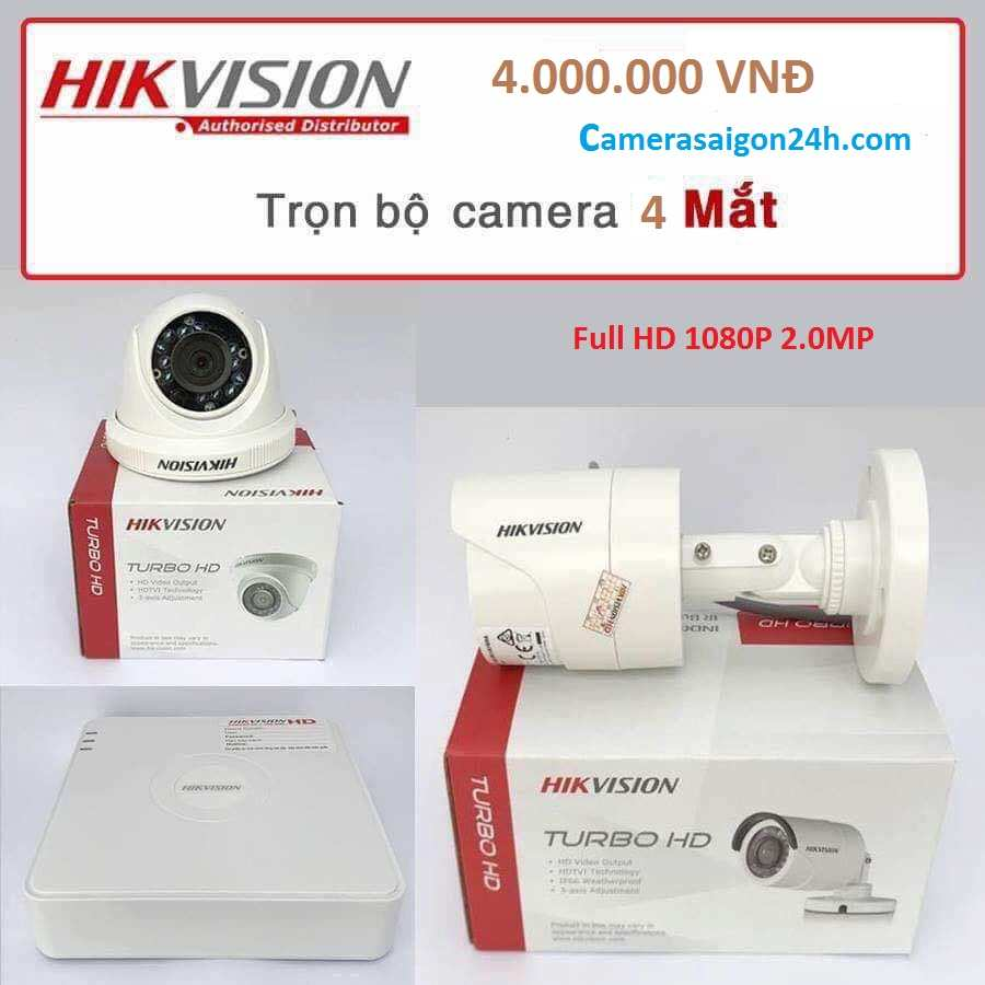 bộ camera hikvision full hd 1080P