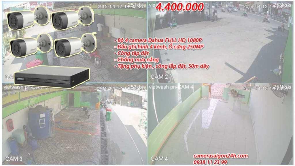 Lắp Camera Dahua cho nhà xưởng giá rẻ