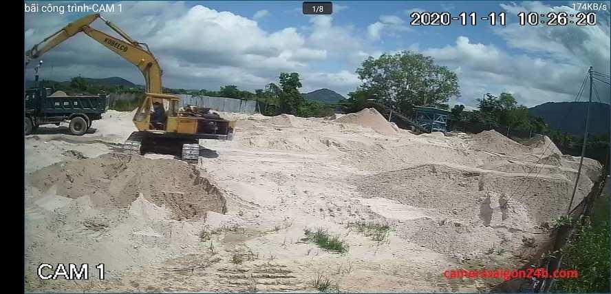 lắp camera wifi giám sát công trình giá re c8c hình ảnh sắt nét