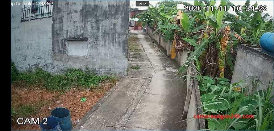 hình ảnh ghi hình thực tế của camera EZVIZ C8C