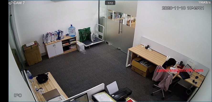 Lắp camaera giám sát ngụy trang báo khói cho văn phòng