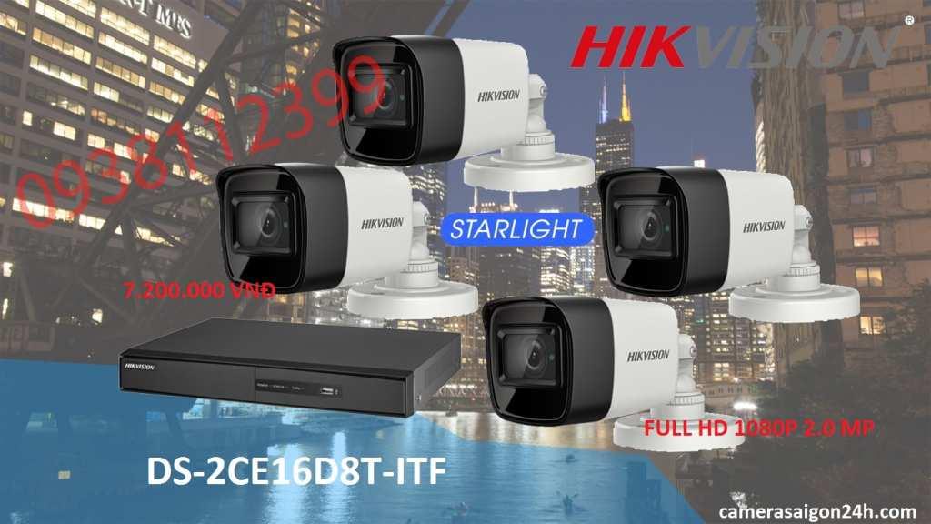 Bộ camera quan sát HIKvision