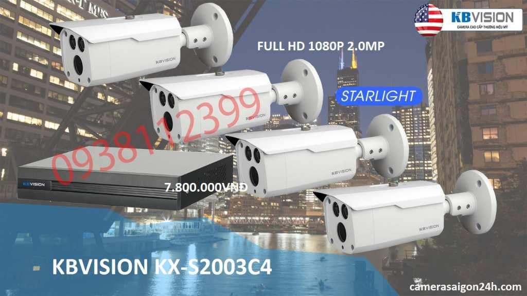 Bộ camera quan sát Kbvision