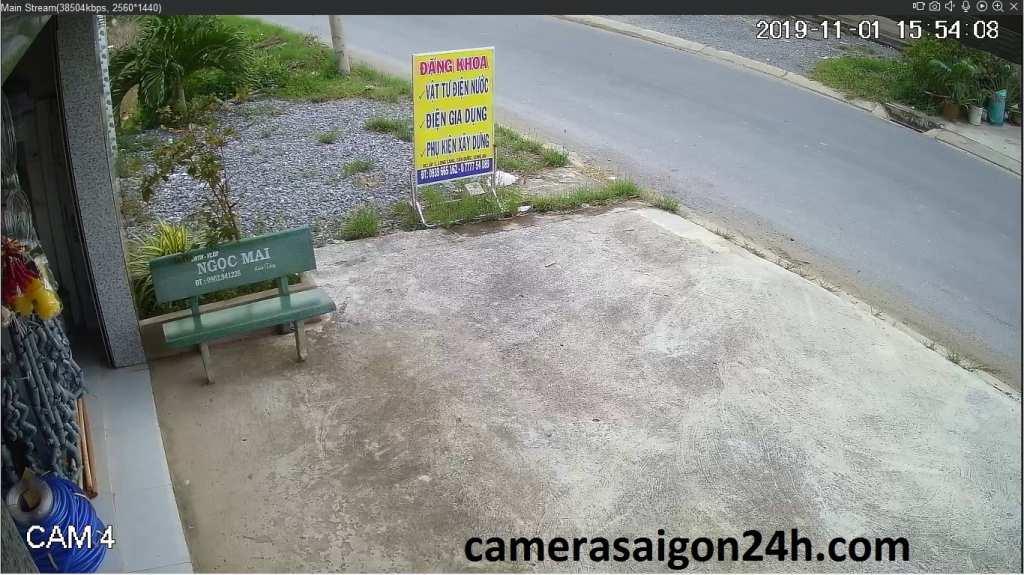 lắp camera quan sát kbvision ultra 2k cho nha xuong