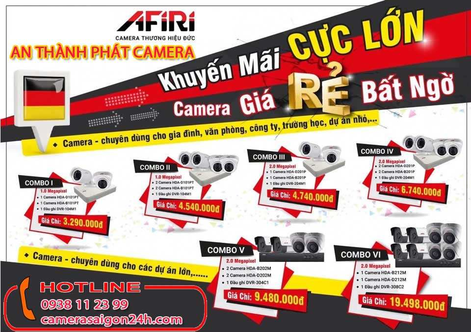 Báo Giá camera Afiri chất lượng camera của đức