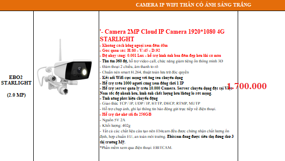 Camera ebitcam chinh hang